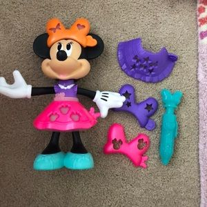 Minnie Mouse stencil & style